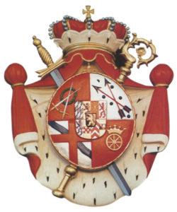 Wappen der Fürstin Franziska Christine Stiftung in Essen Steele